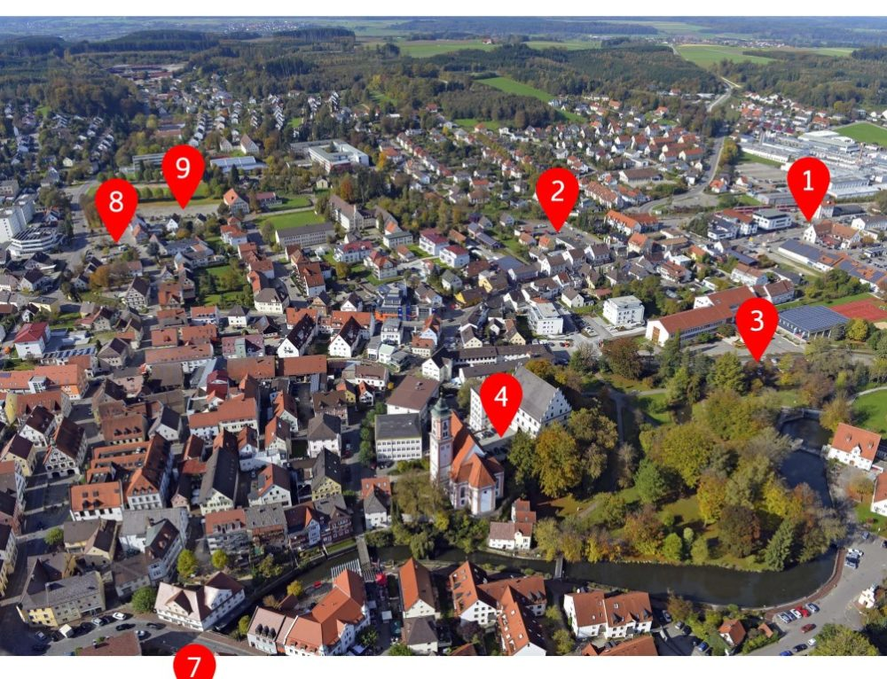 31.01.2018 – Lenkungsgruppensitzung, Interne Immobilienrunde, Parkleitsystem